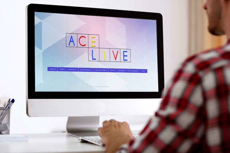 ace live, site web, creation, bourgoin, isere, alpes, communication, agence