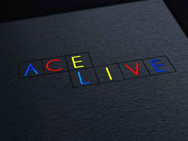 ace live, logo, png, crréation