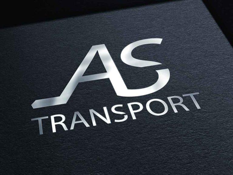logo, as transport, création, design