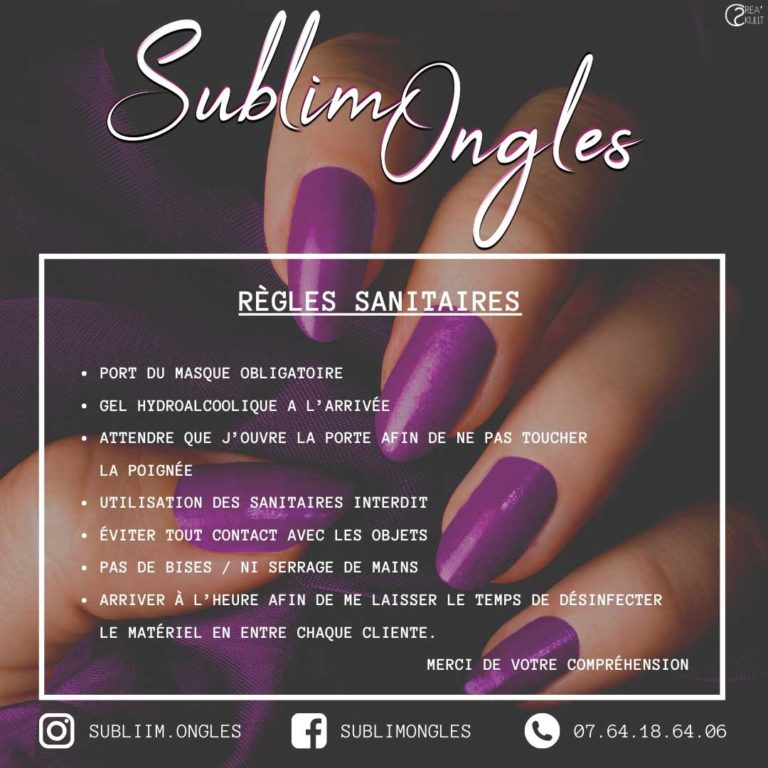 flyer, communication, sublim ongles, prothesiste ongulaire,nord isere, webradio, creaskullt, rhône-alpes, agence