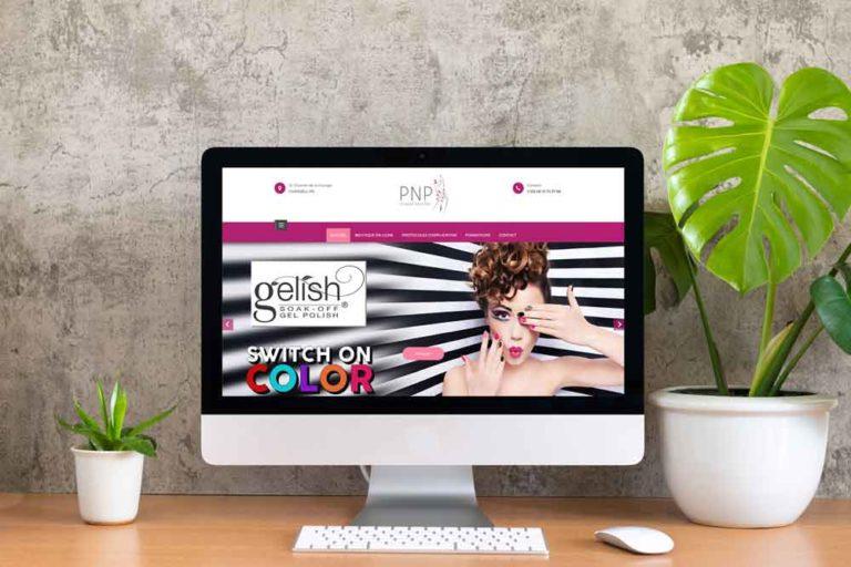 powder nails pro, site web, creation, bourgoin, isere, alpes, communication, agence